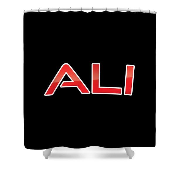 Ali Shower Curtain