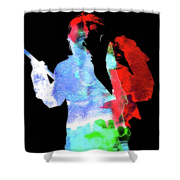 Alice Watercolor II Shower Curtain