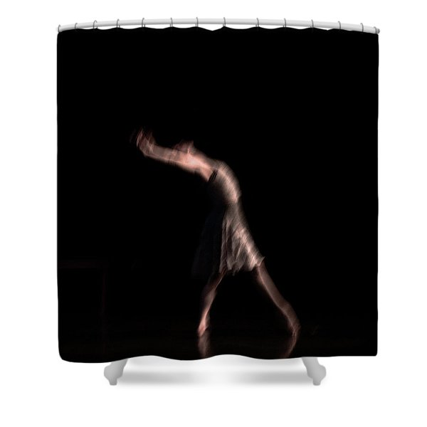 Shower Curtain featuring the photograph Allegra by Catherine Sobredo