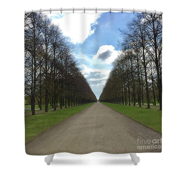 Alley Shower Curtain
