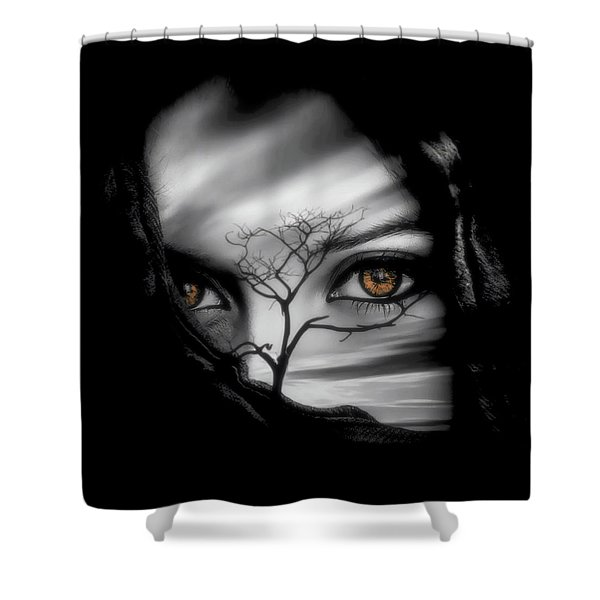 Allure Of Arabia Shower Curtain