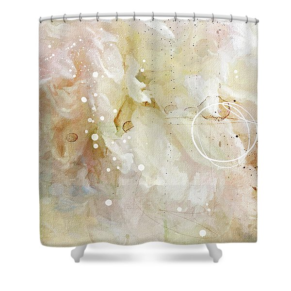 Alone In A Crowd Shower Curtain