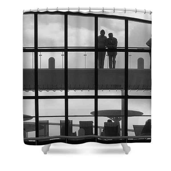 Alone. Together Shower Curtain