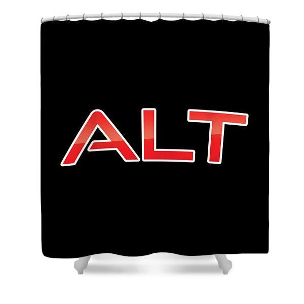 Alt Shower Curtain