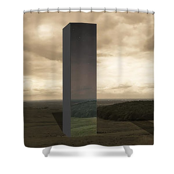 Alternate Realities Shower Curtain