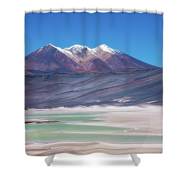 Altiplano View Shower Curtain