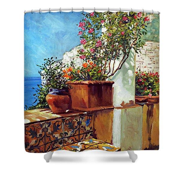 Amalfi Coast Impressions Shower Curtain