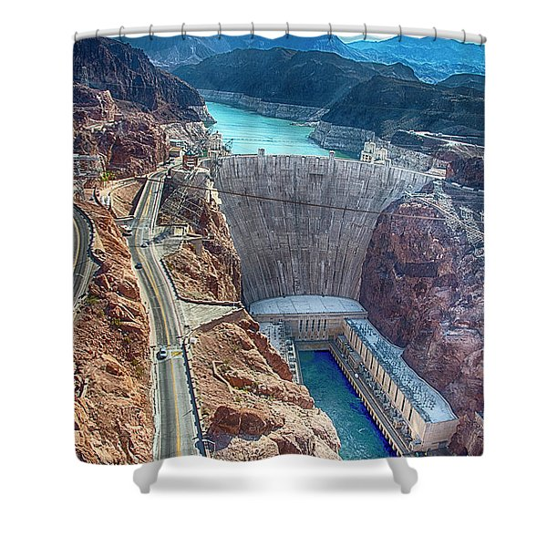 Amazing Hoover Dam Shower Curtain