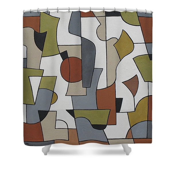 Ambagious Shower Curtain