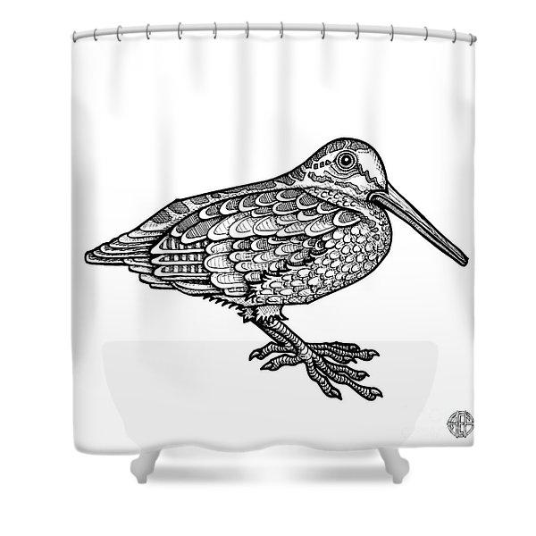 American Woodcock Shower Curtain