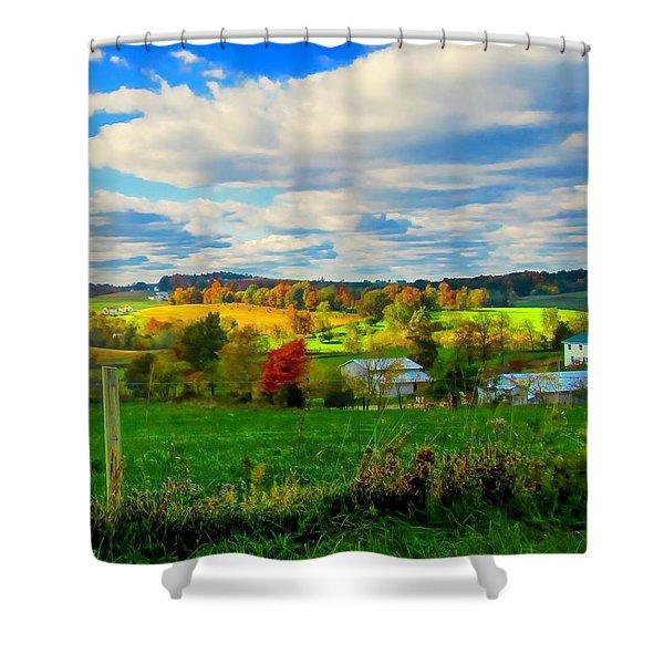 Amish Farm Beauty Shower Curtain