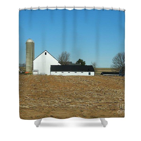 Amish Farm Days Shower Curtain
