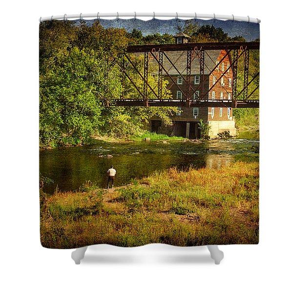Ammerman Mill Shower Curtain