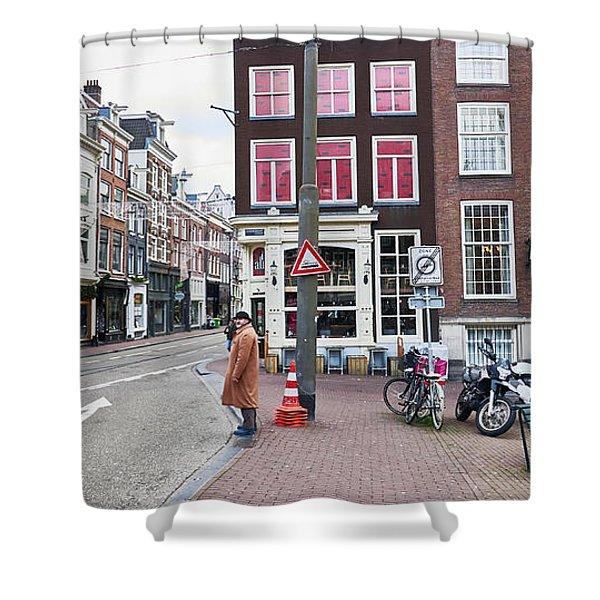 Amsterdam Pride Shower Curtain