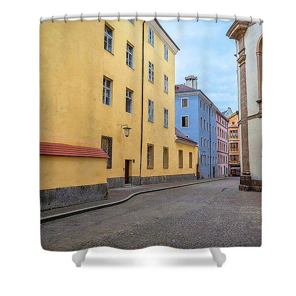 An Innsbruck Street Shower Curtain