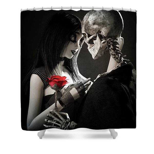 Ancient Love Shower Curtain
