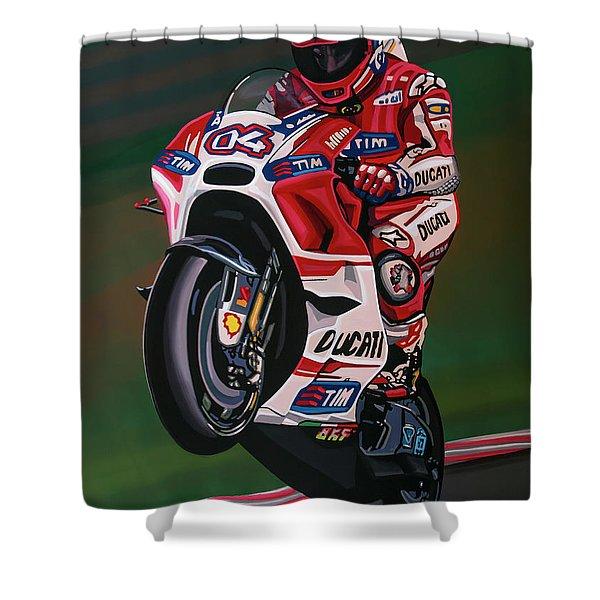 Andrea Dovisiozo Painting Shower Curtain