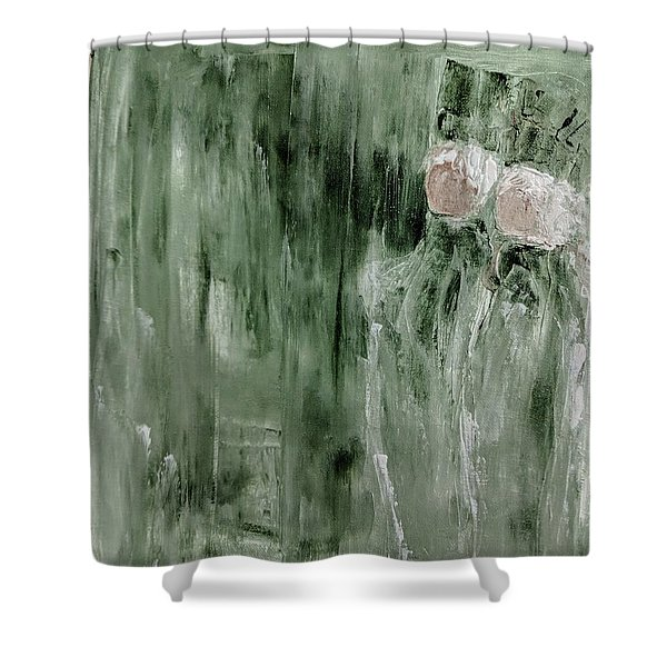 Andrews Angels Shower Curtain