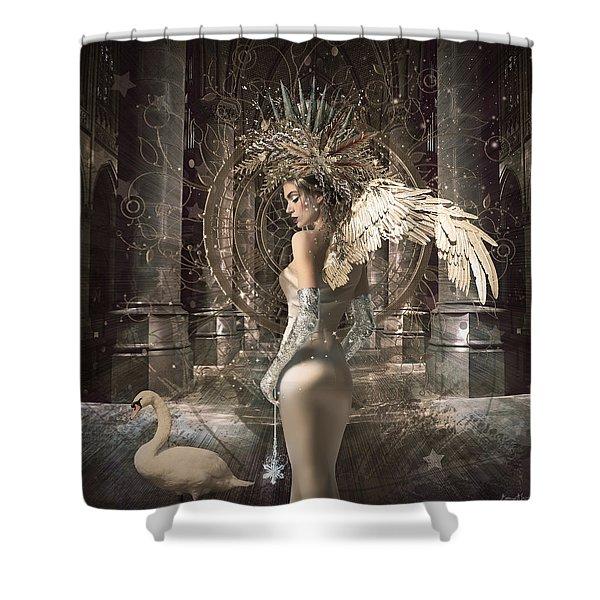 Angel Alchymie Shower Curtain