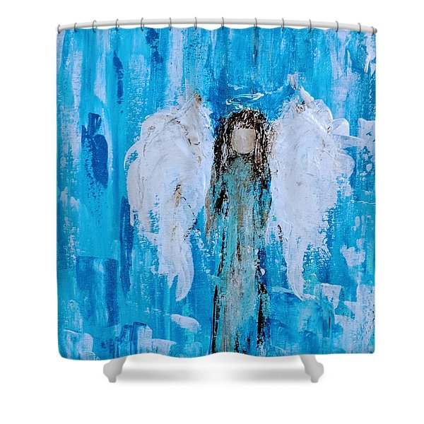 Angel Among Angels Shower Curtain