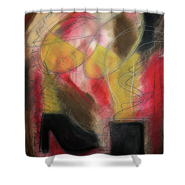 Angel At The Beach Shower Curtain