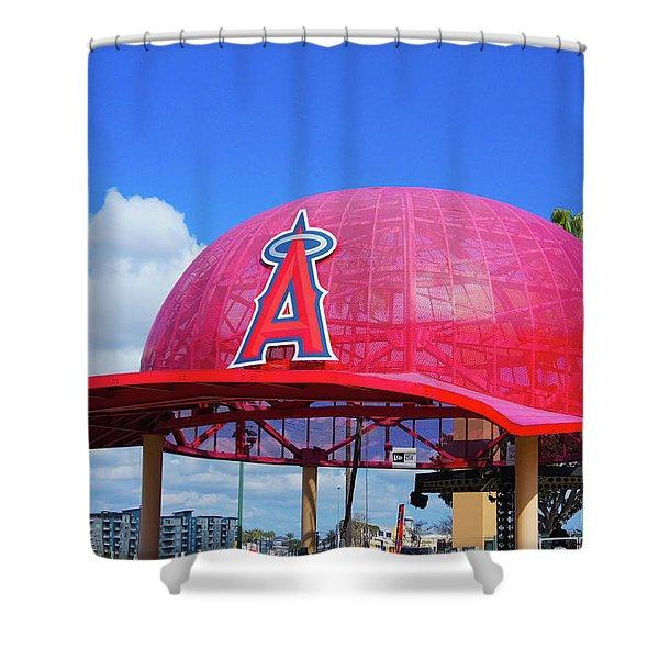 Angel Cap Shower Curtain