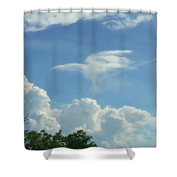 Angel Cloud Appears  Shower Curtain