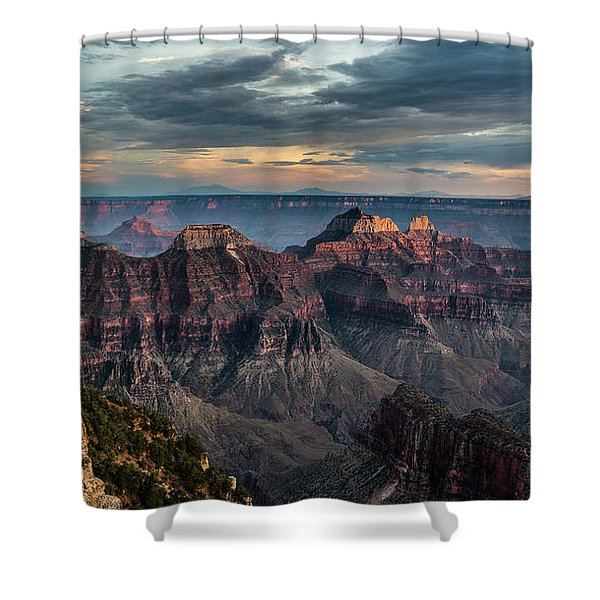 Angel Point Shower Curtain