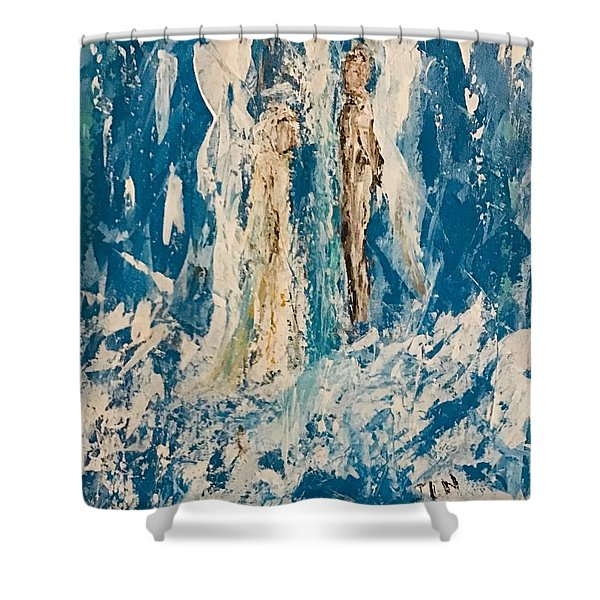 Angelic Angels Shower Curtain