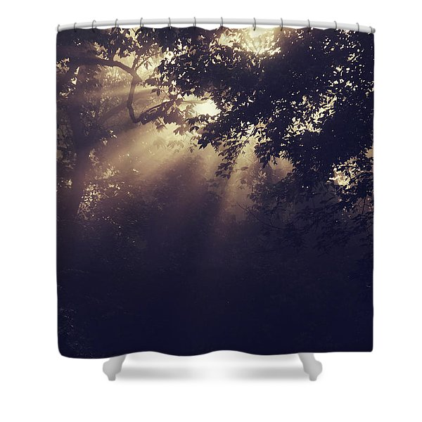 Angels Called Home Shower Curtain