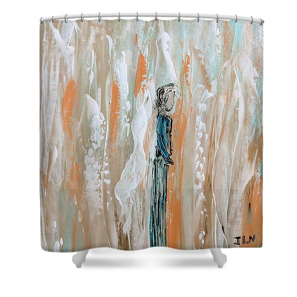 Angels In The Midst Of Every Day Life Shower Curtain