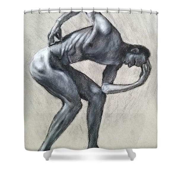 Anguish Shower Curtain