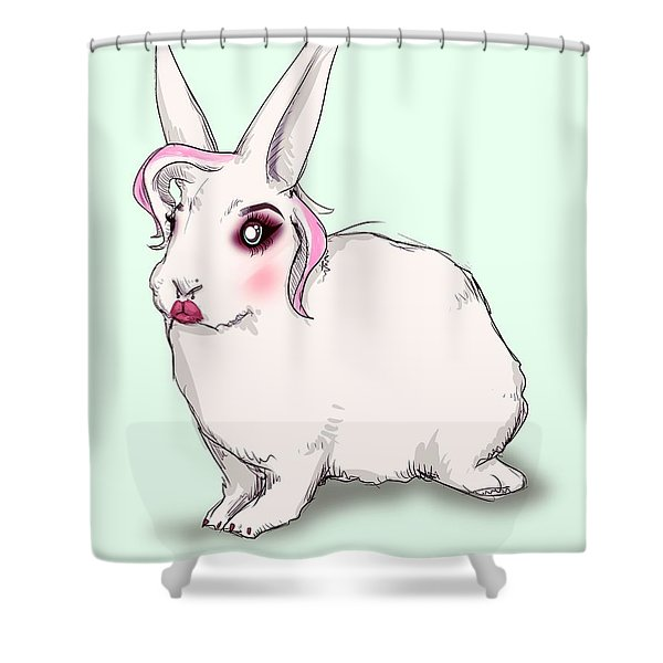 Animal Testing Shower Curtain