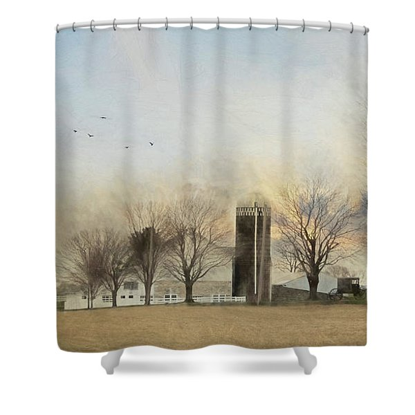 Another Blessed Morning Shower Curtain