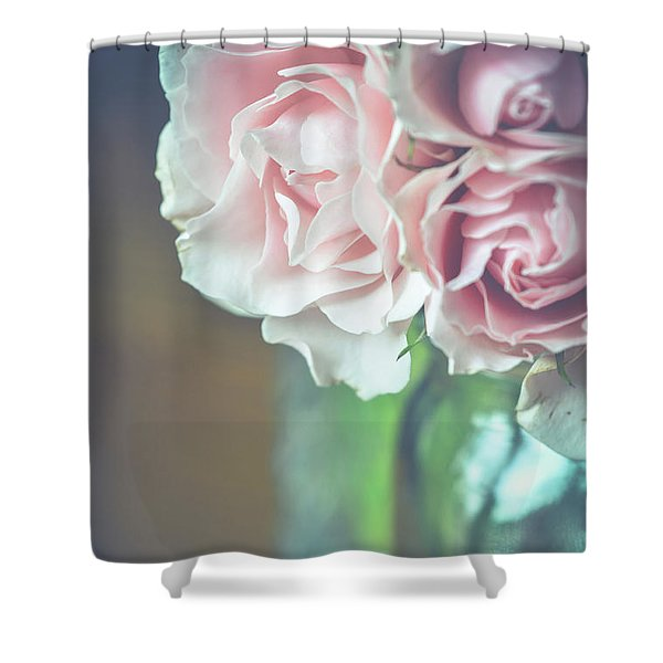 Antique Roses Shower Curtain