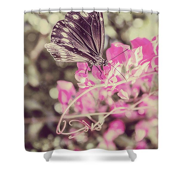 Antique Spring Shower Curtain