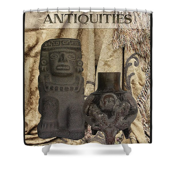 Antiquities Shower Curtain