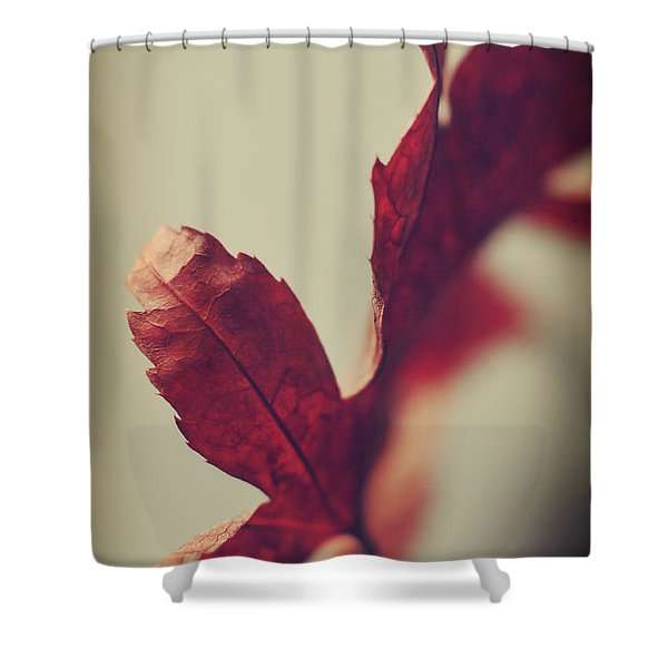 Anxious Nights Shower Curtain