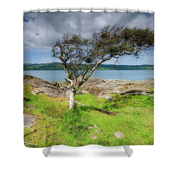 Any Way The Wind Blows Shower Curtain