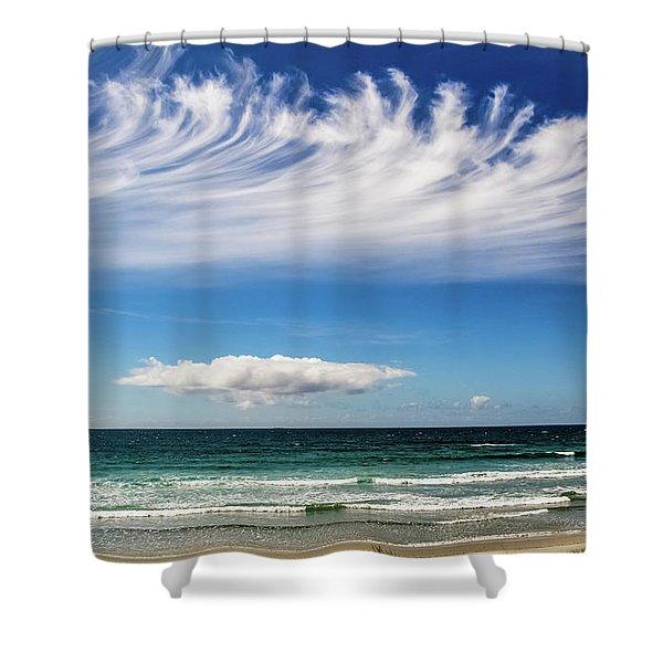 Aotearoa - The Long White Cloud, New Zealand Shower Curtain
