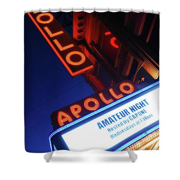 Apollo Theater Amateur Night Shower Curtain