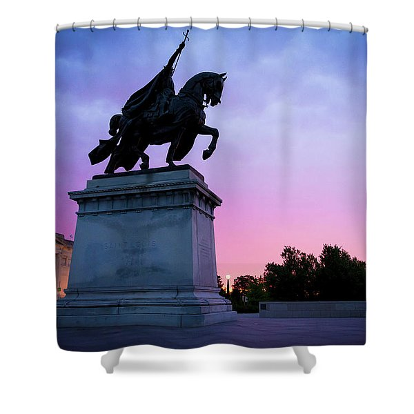 Apotheosis Of St. Louis, King Of France Shower Curtain