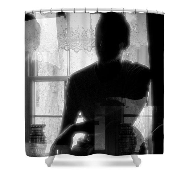 Apparition Shower Curtain