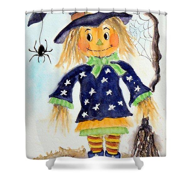 Arachnid Angelica Shower Curtain
