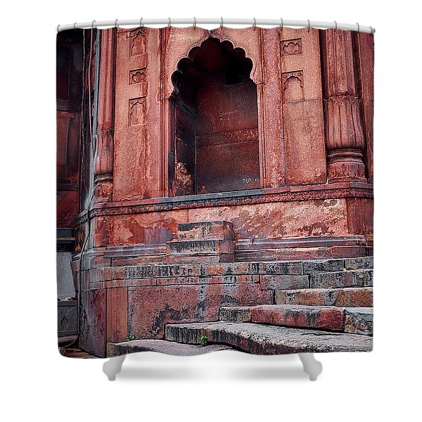 Shower Curtain featuring the photograph Arch by Whitney Goodey
