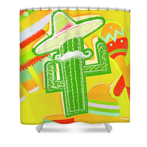 Arid Amigo  Shower Curtain