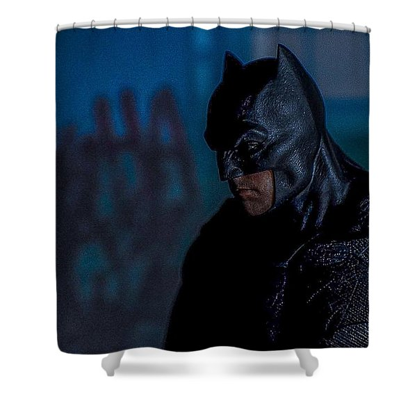Arkham Escape Shower Curtain