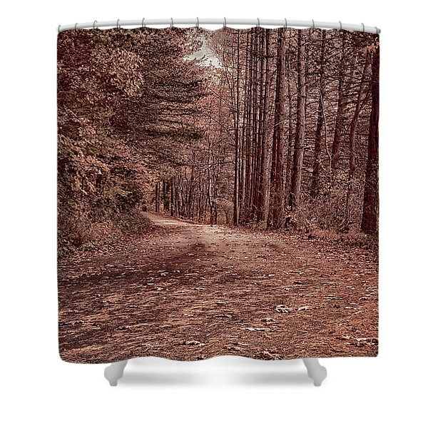 Around The Corner Shower Curtain