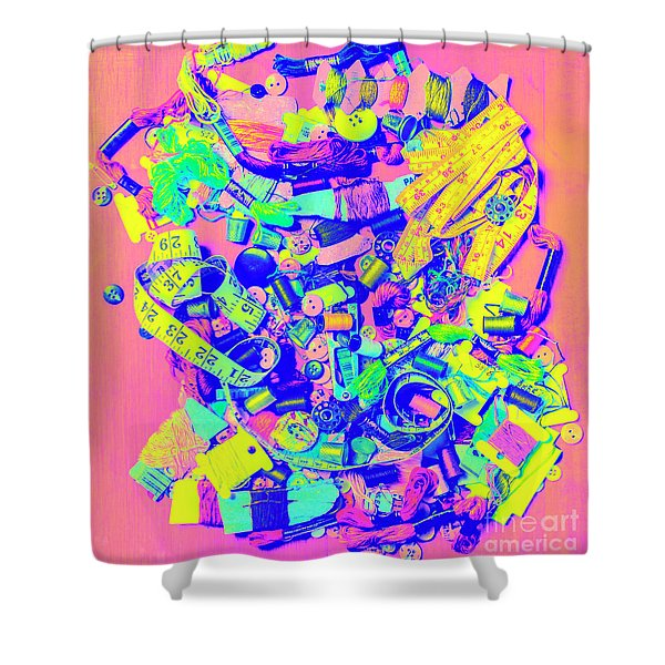 Art Of A Tailor Shower Curtain
