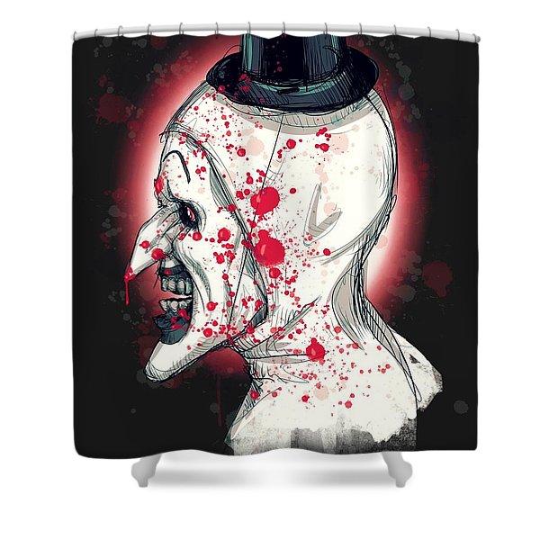 Art The Clown Shower Curtain